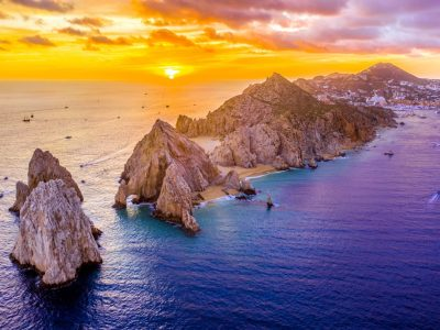 Aerial,View,Of,Land's,End,,Cabo,San,Lucas,,Mexico,At